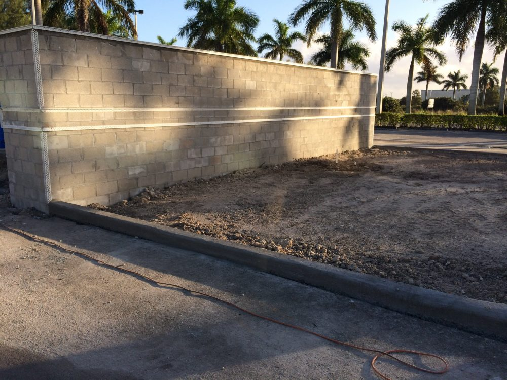 Hurricane Wall Construction