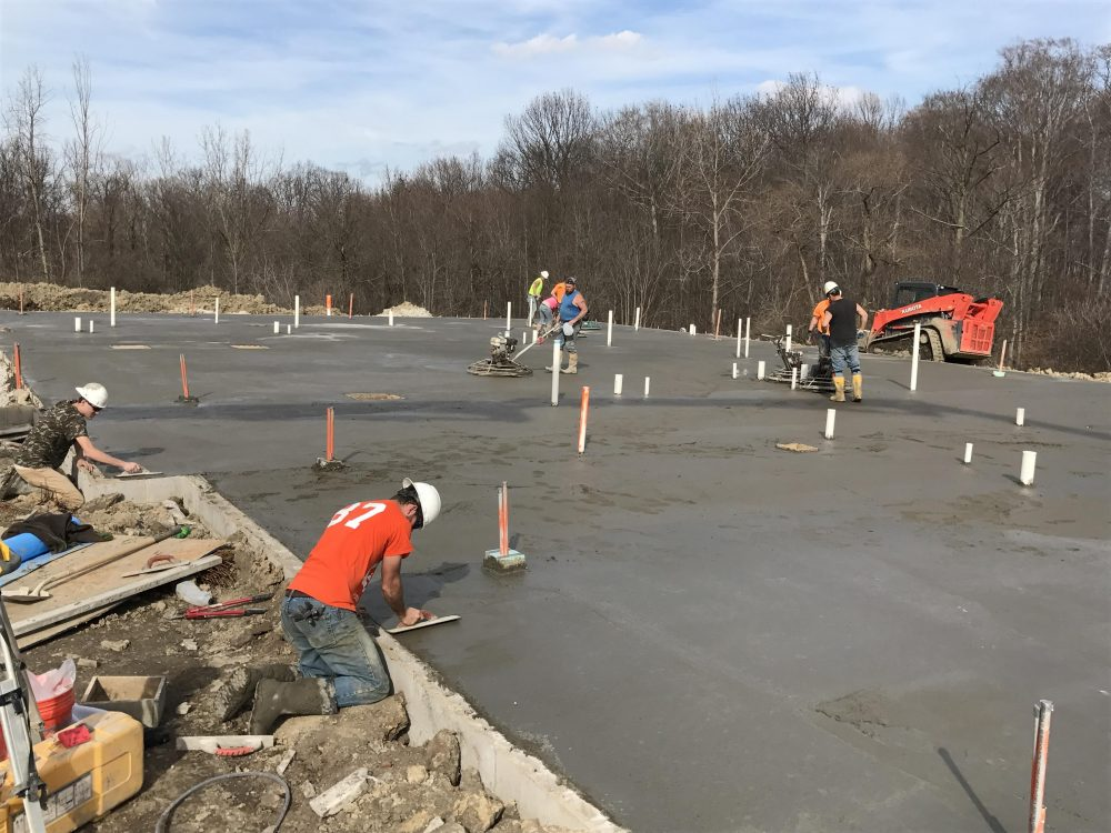 Commercial Concrete Contractor in Toledo