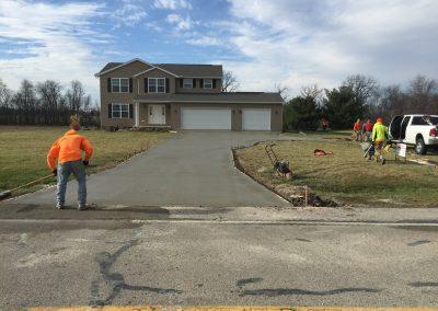 Concrete Driveway in Toledo