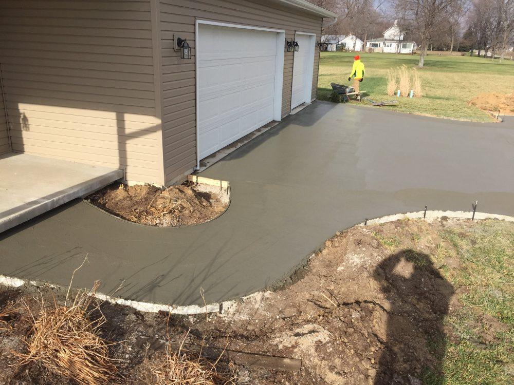 Toledo Concrete Driveway